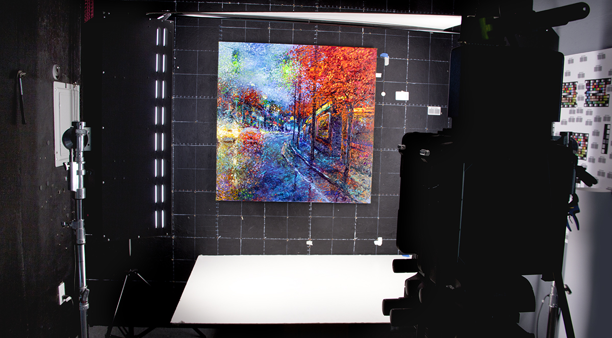 Art Scanning Services Bellevue Fine Art
