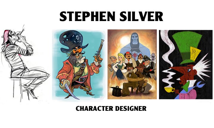 Stephen Silver Cartoons
