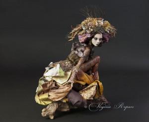 Artwork by Virginie Ropars (taken at Krab Jab Studio)