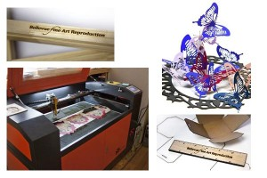Laser Services, laser cutting, laser engraving for artists