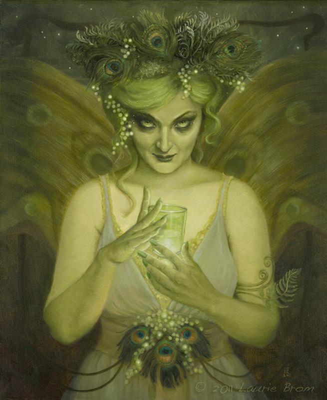 """Green Fairy"" 24""x30"""