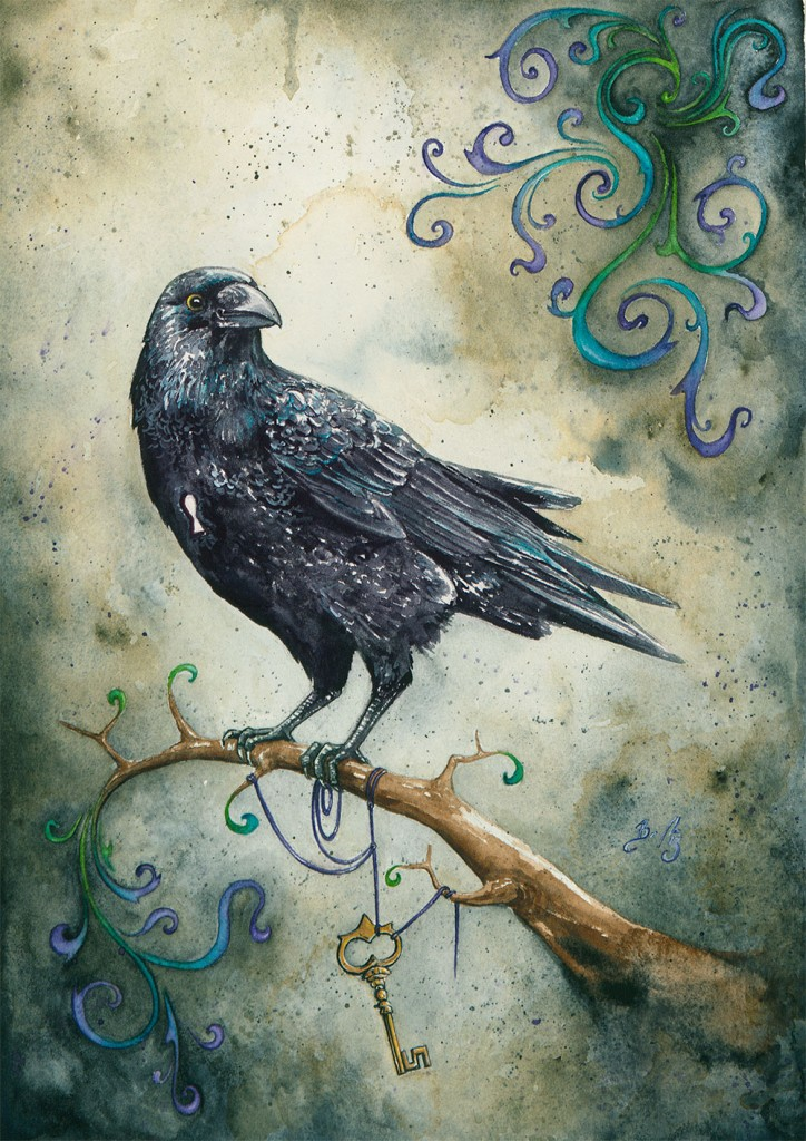 Heart Strings and Raven 2.0 by Braden Duncan