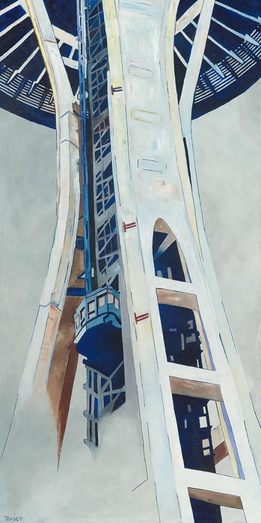Space Needle by Ian Thorsett