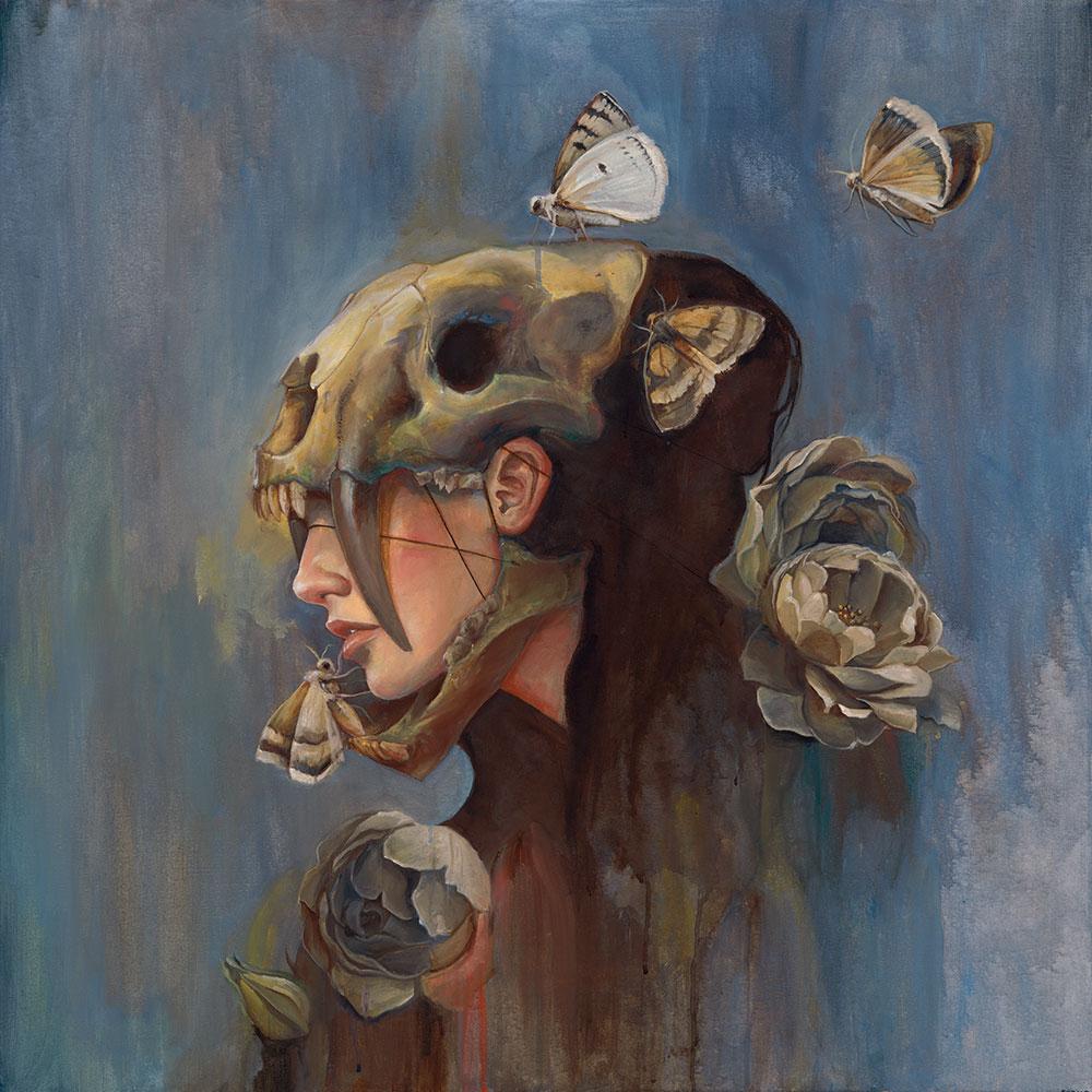 Chris-Alderson-Sabretooth-Skull-36x36