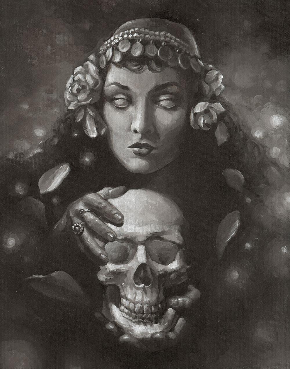 web-Gypsy-and-Skull-11x14