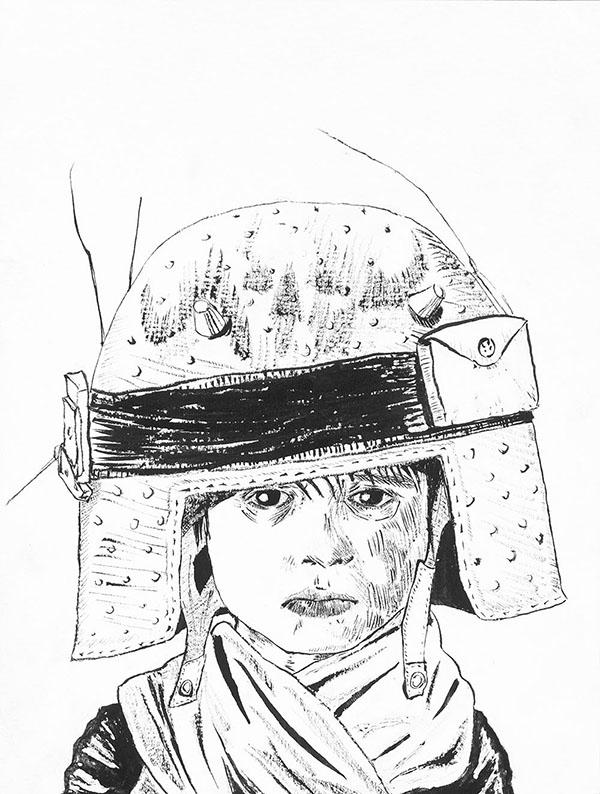 Helmet Boy_Gregory Prout