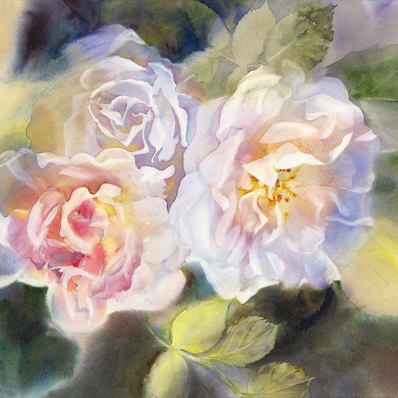 """""""Romance with Roses"""" by Elena Balekha"""