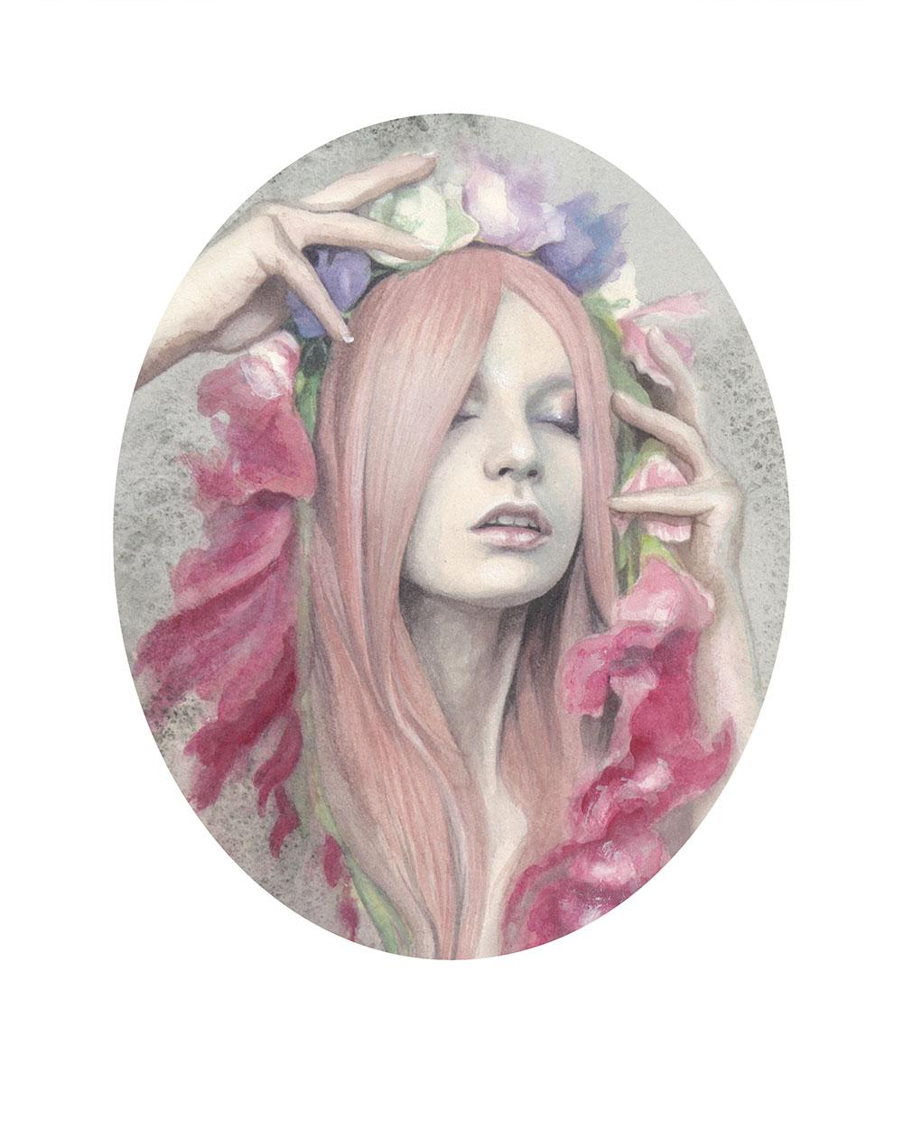 """""""Gladiole"""" by Redd Walitzki"""