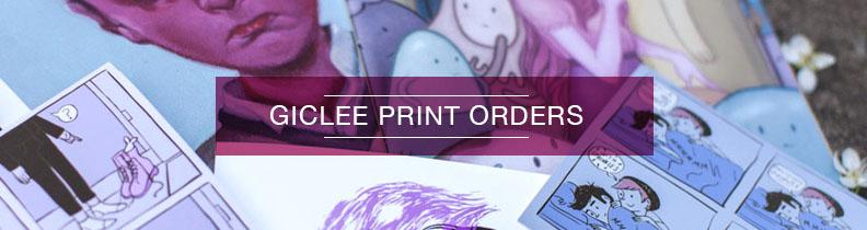 Giclee Print Orders