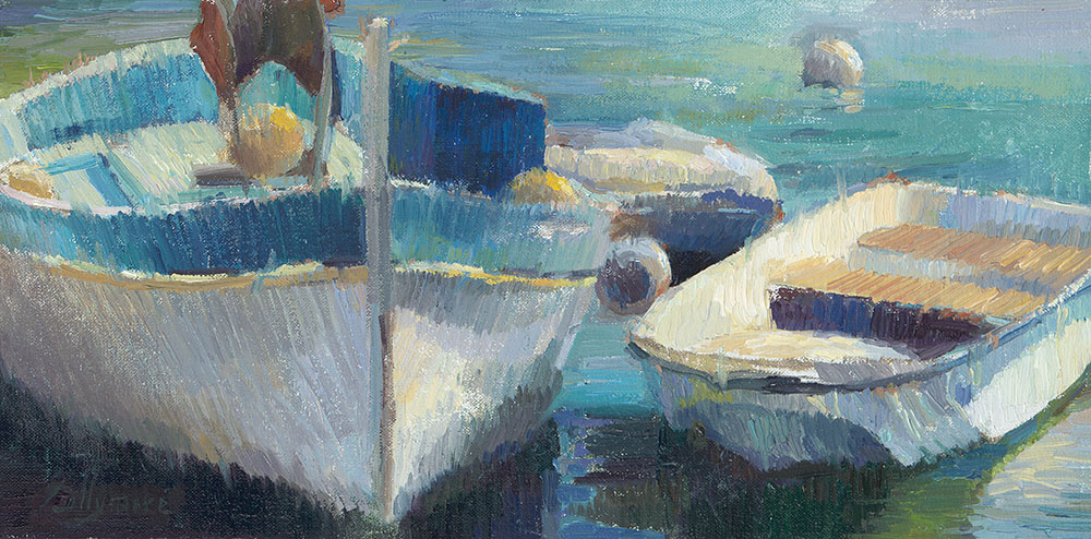 Bateau in Villafrance - Valerie Collymore