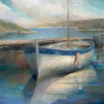Valerie Claymore - boats 20x24