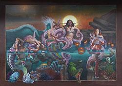 Crystal Barbre Deja Vu Mural